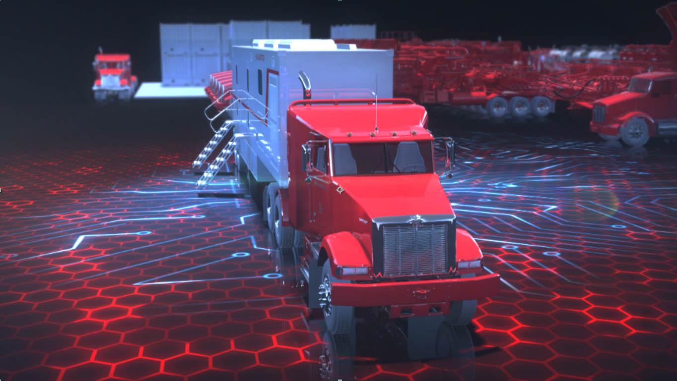 Halliburton 3D Animation